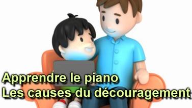 Apprendre le piano – les causes du découragement
