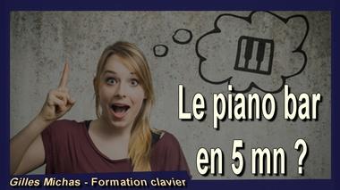 Jouer du piano jazz et improviser en 5 minutes