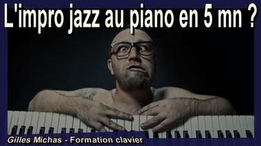 Improviser au piano sur un standard de jazz