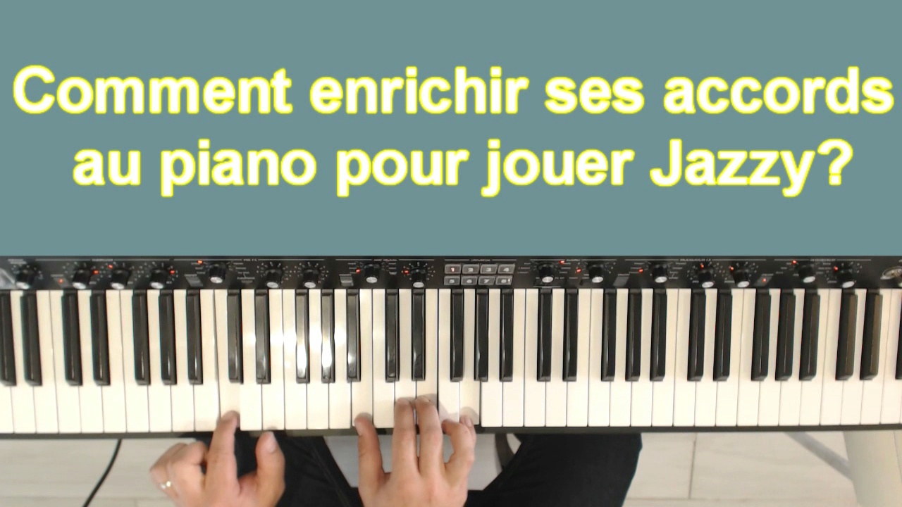 Comment jouer jazzy au piano
