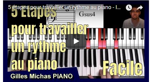 5 étapes pour travailler le rythme au piano