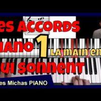 Les accords piano qui sonnent - Technique de la main en or