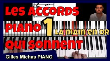accords piano qui sonnent