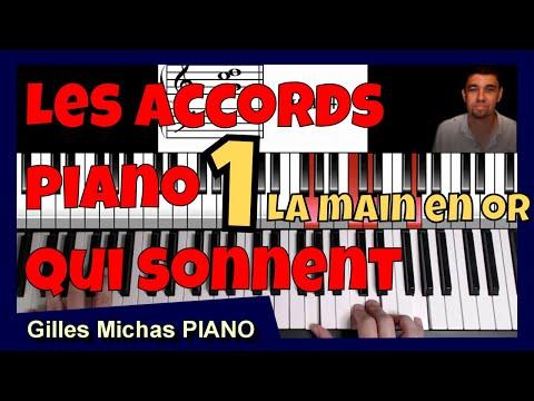 Les accords piano qui sonnent – Technique de la main en or