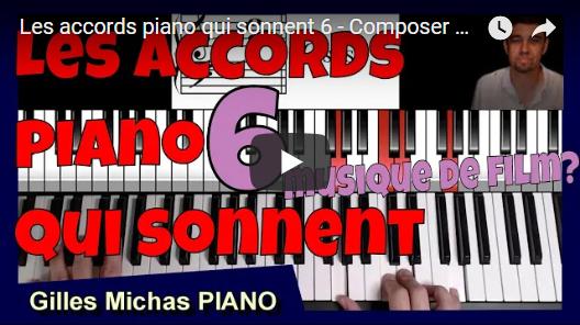 Composer une musique de film au piano avec 4 notes?