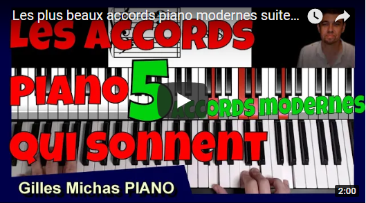 Les plus beaux accords piano modernes ? suite – La main en or – variante