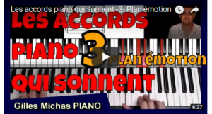 Beaux accords piano - Les accords piano qui sonnent -3