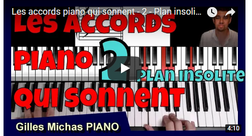 Plan piano insolite - Les accords piano qui sonnent -2