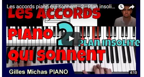 Plan piano insolite - Les accords piano qui sonnent -2