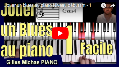 Jouer un blues au piano