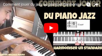 Comment jouer du jazz au piano ? Harmoniser un thème