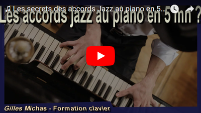 Comment construire des accords jazz au piano facilement