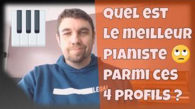 Quel est le meilleur pianiste parmi ces 4 profils piano