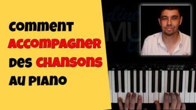 Comment accompagner une chanson au piano