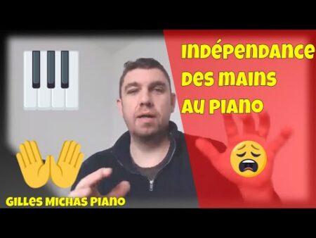 Indépendance des mains au piano