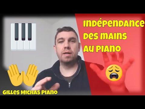 Comment travailler l'indépendance des mains au piano