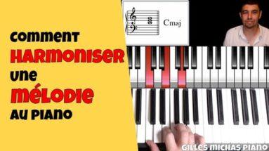 Comment harmoniser une mélodie au piano
