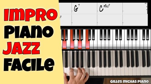 Comment improviser au piano jazz facilement